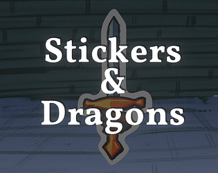 Stickers & Dragons [Free] [Card Game] [Windows]