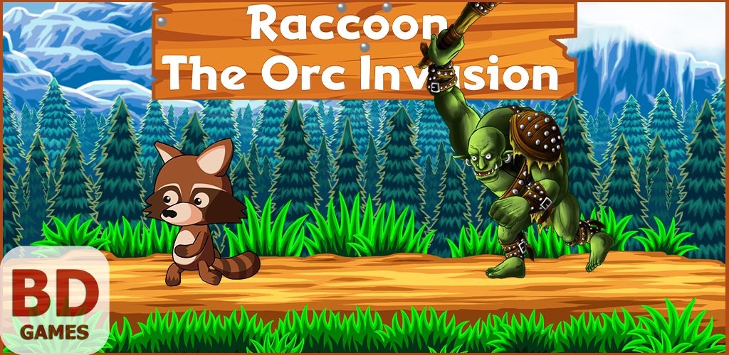 Raccoon: The Orc Invasion (Steam, Google Play)