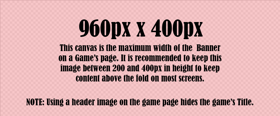 Itch Game Page Image Guide and Templates