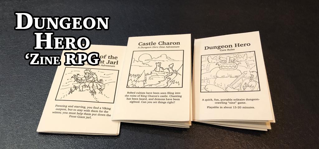 Dungeon Hero Volume 1: Starter Set