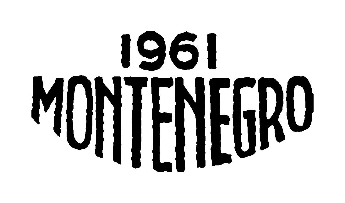 Montenegro 1961