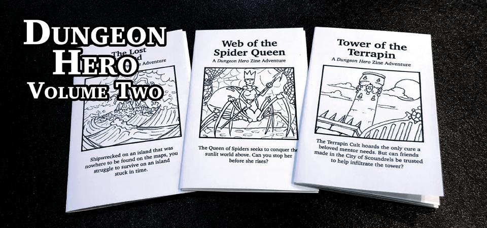 Dungeon Hero Volume 2: Giant Beasts