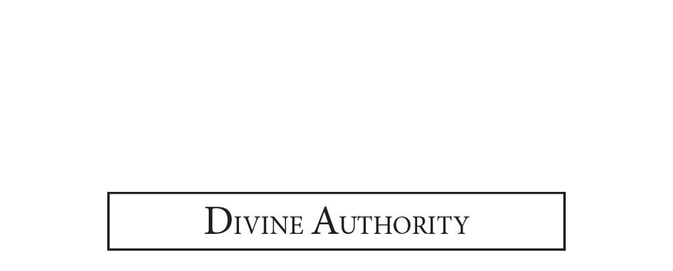 Divine Authority