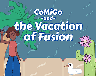 Comigo and the Vacation of Fusion: a relaxing alchemy/exploration game about building personal islands and taking selfies!