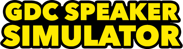 GDC Speaker Simulator (realistic public speaking)