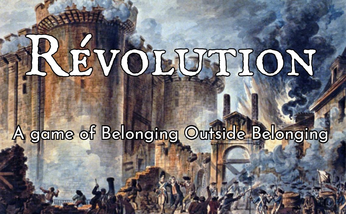 Révolution - RPG