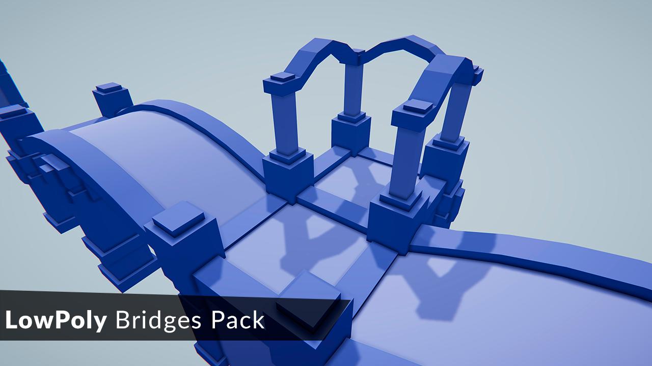 LowPoly Bridges Pack