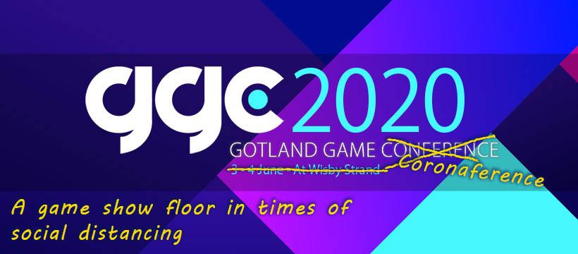 Gotland Game Coronaference banner