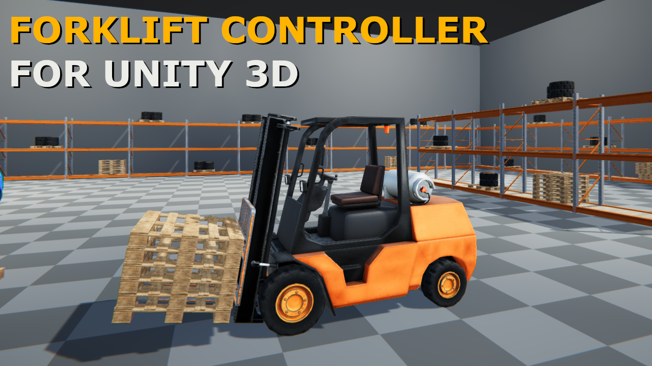 Forklift Controller for Unity 3D