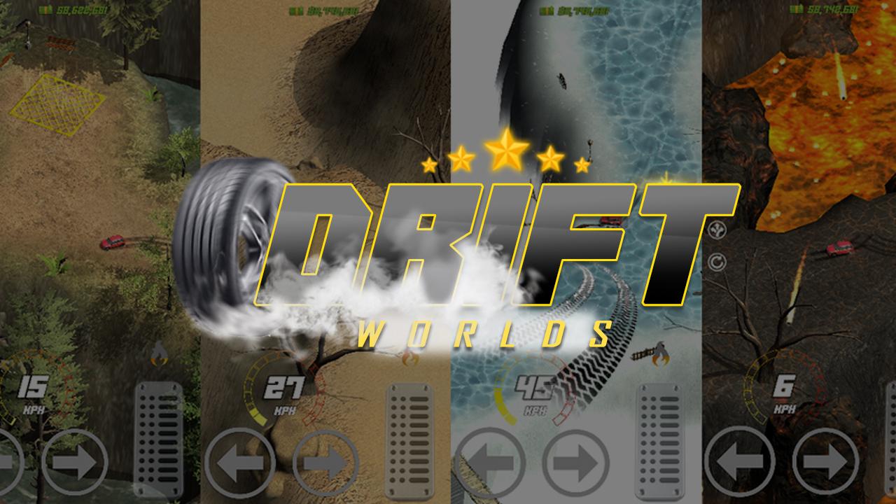 Drift Worlds ⚠️ Real Life Drifting, Arcade Racing