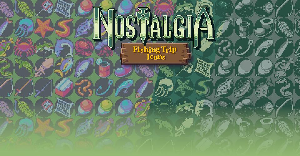 Ocean's Nostalgia - Fishing Trip Icons