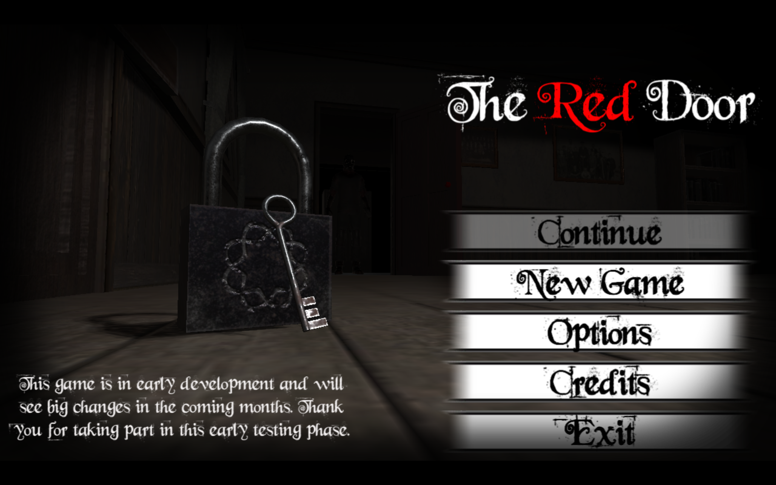 Untitled Horror Title Screen