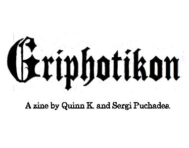 GRIPHOTIKON | BOOK 1