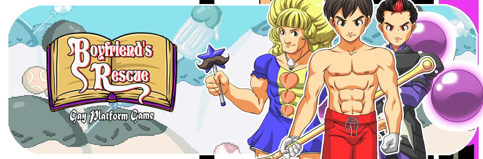 Boyfriend's Rescue -  Gay Platform Game v1.00