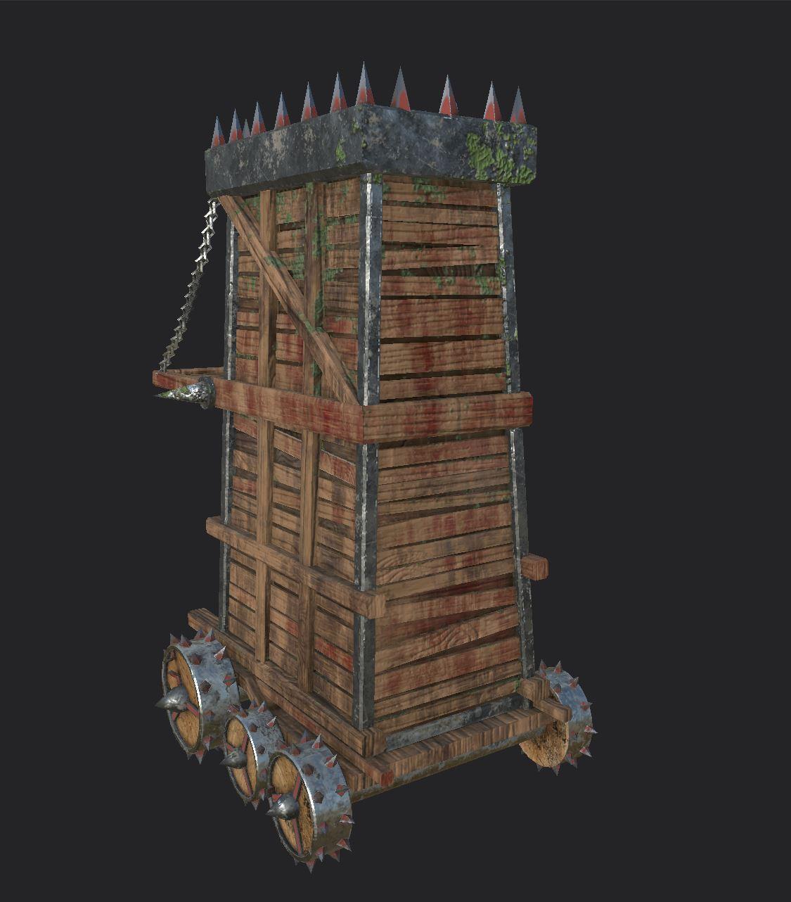 Siege Tower Back