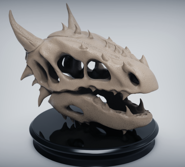 Dragon Skull for the top of the enemy spawners