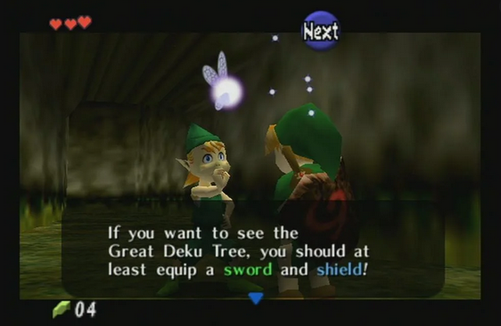 Nintendo's Zelda:Ocarina of Time