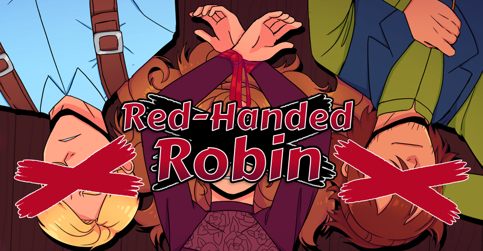 Red-Handed Robin