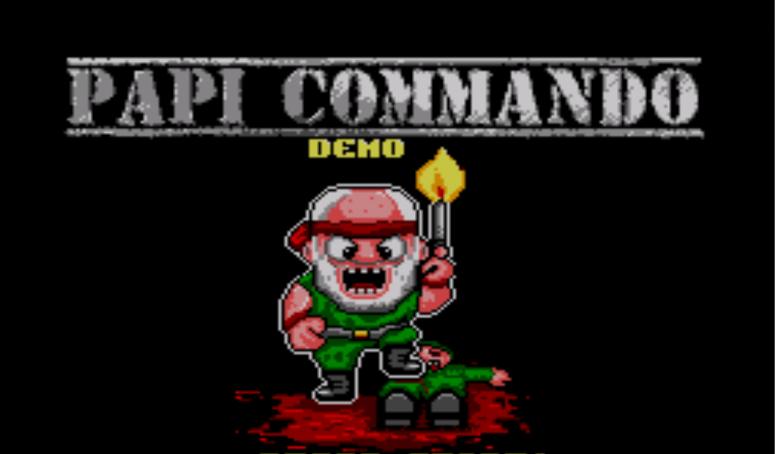 Papi Commando in Ceplusplus Land *Sega Master System* Official Demo !!