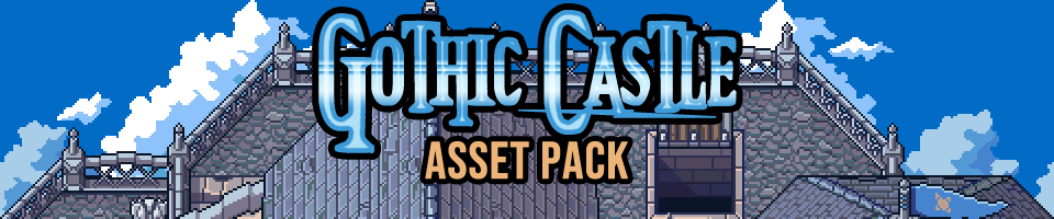 Gothic Castle Game Assets