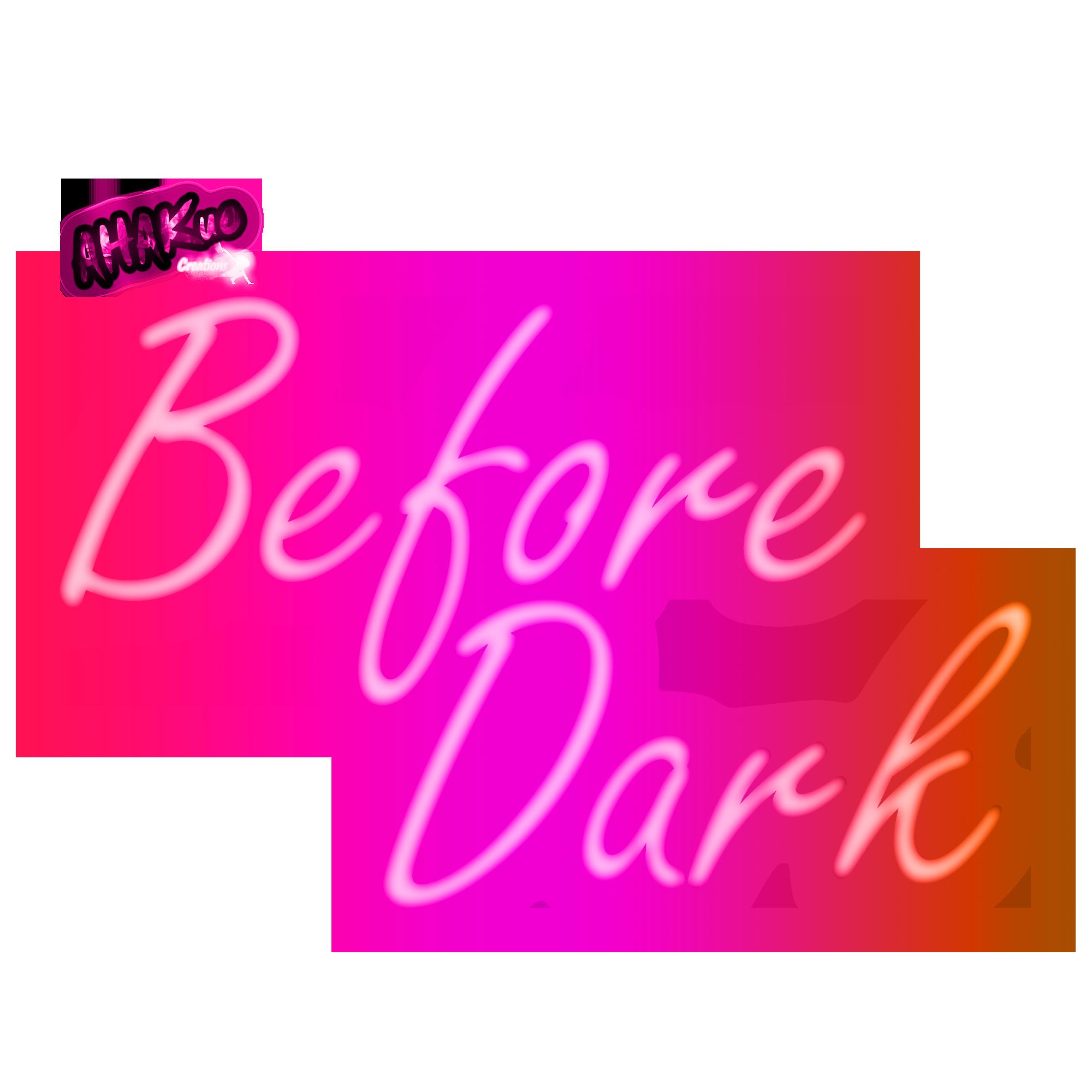 Before Dark Title
