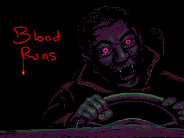 Blood Runs by Joan Sol ROO, Lisergishnu, Titwin