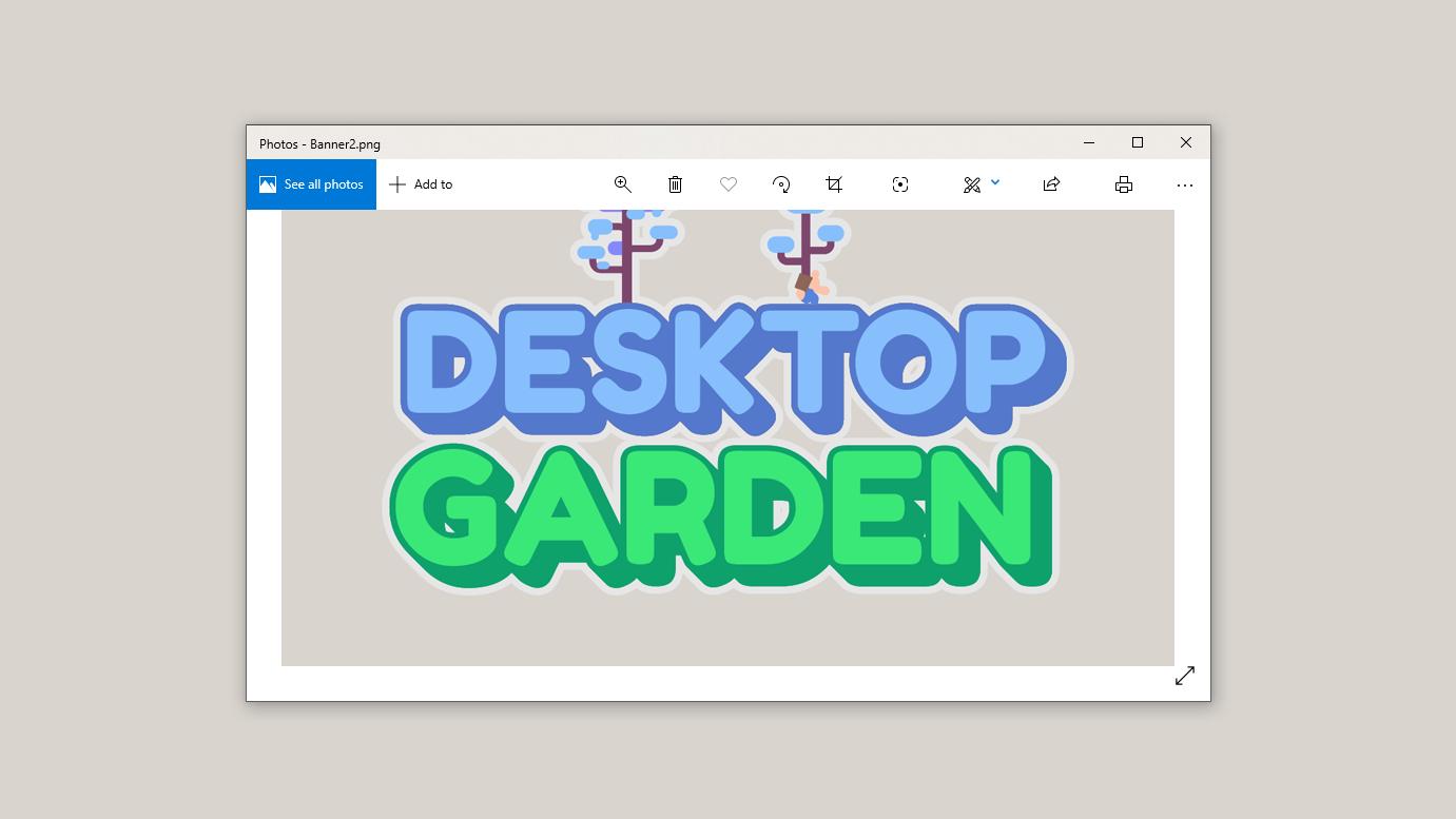 Desktop Garden