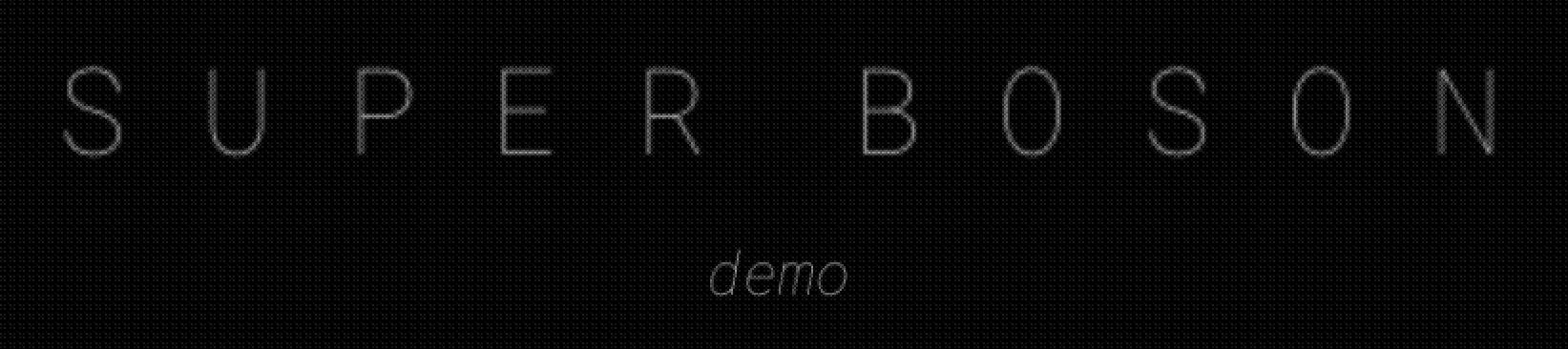 SUPER BOSON [demo]