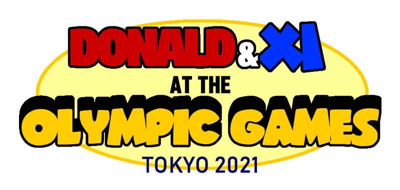 Donald and Xi at the 2021 Olympics