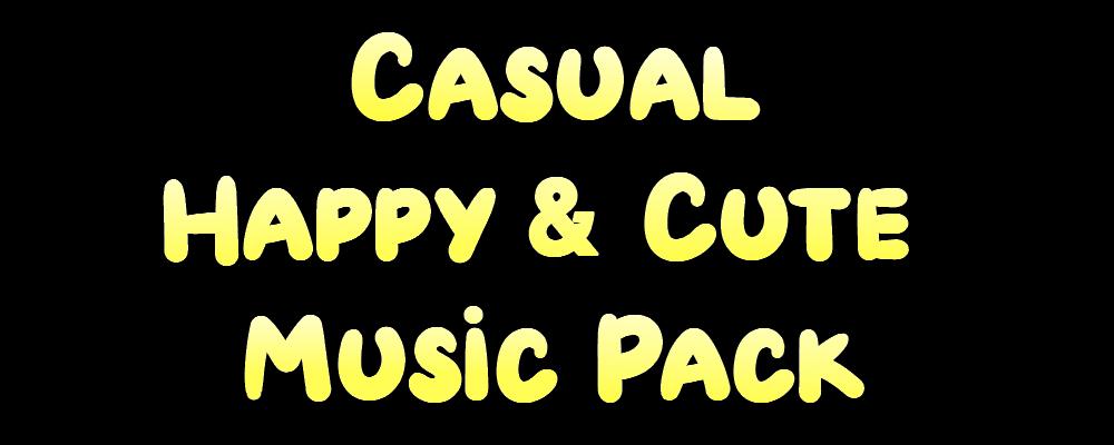 Casual Happy & Cute Music Pack
