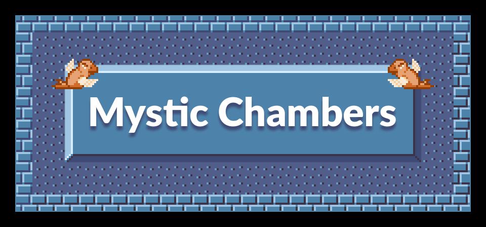 Mystic Chambers - 16x16 Zelda-Like Dungeon Tiles