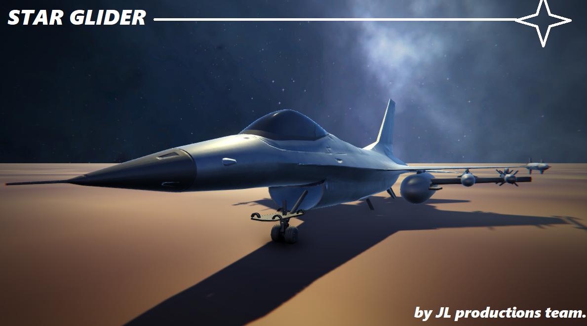 Star Glider-Multiplayer Space Flyer