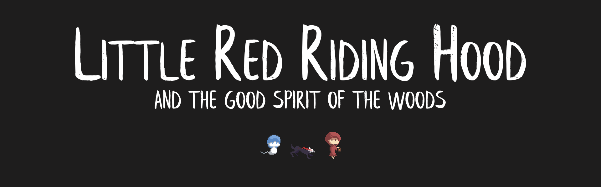 Little Red Riding Hood and the Good Spirit of the Woods