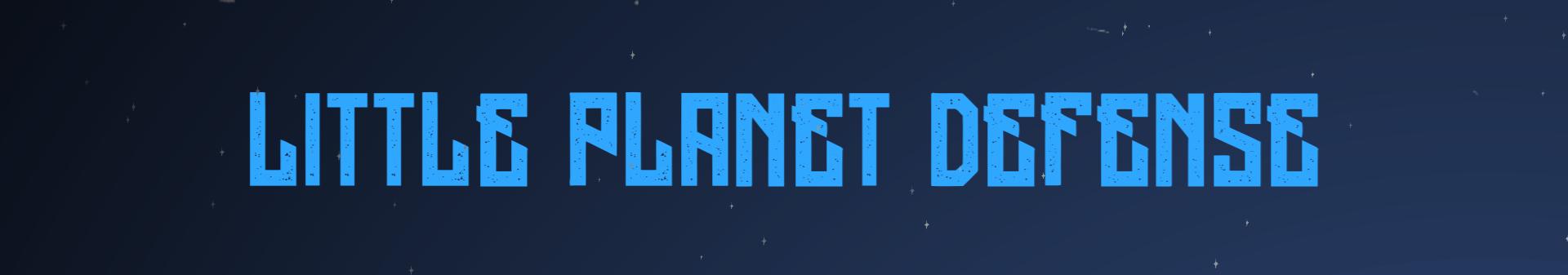 Little Planet Defense