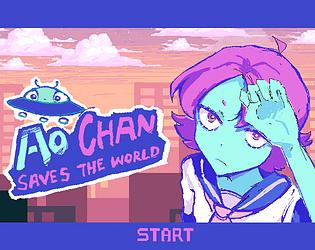 Ao-chan saves the world [Free] [Platformer] [Windows]