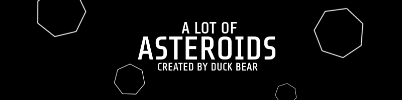 A Lot Of Asteroids