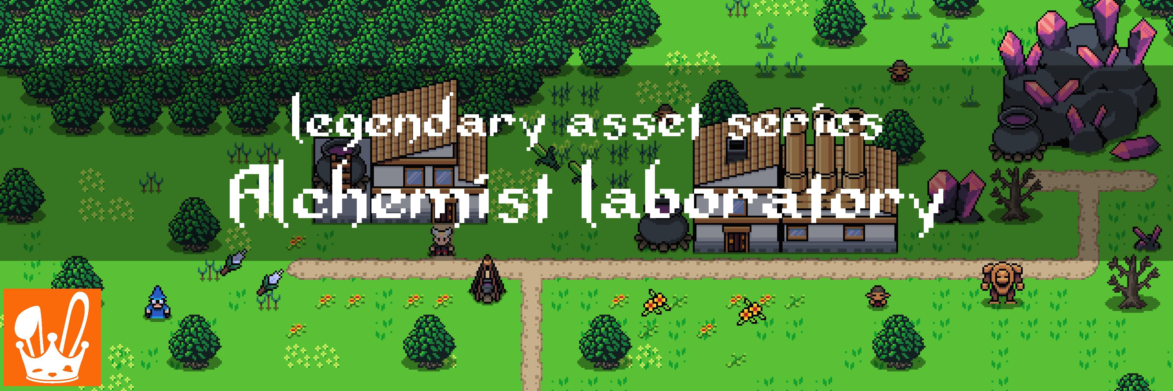 Legendary Asset Series: Alchemist Laboratory