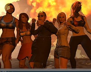 Adara - Stealth Girl in Revenge Demo [Free] [Fighting]