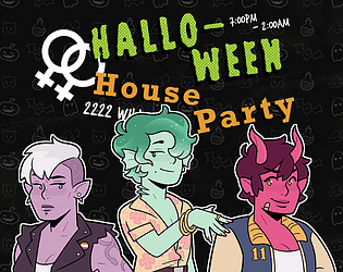 Halloween House Party [Free] [Visual Novel] [Windows] [macOS] [Linux]