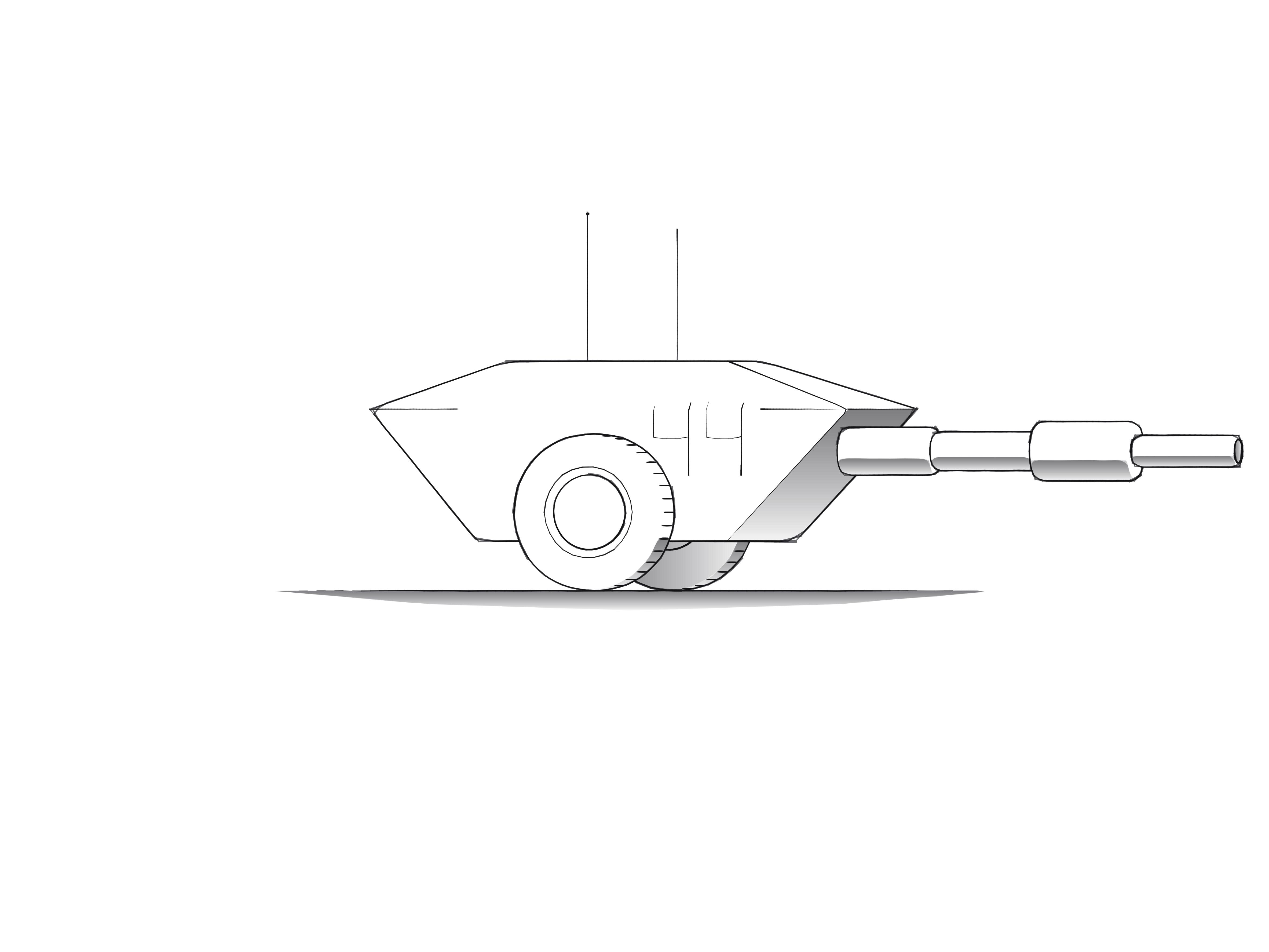 One of the randomly generated Tanks.
