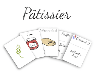 Pâtissier [Free] [Card Game]