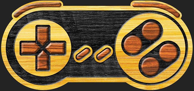 "SNES ""Wood"""