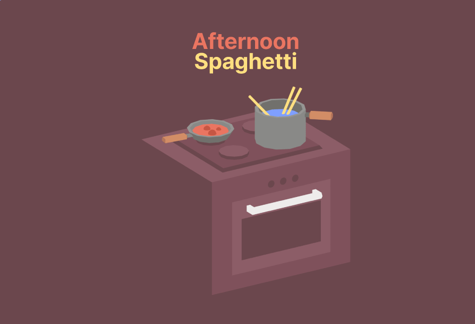 Afternoon Spaghetti