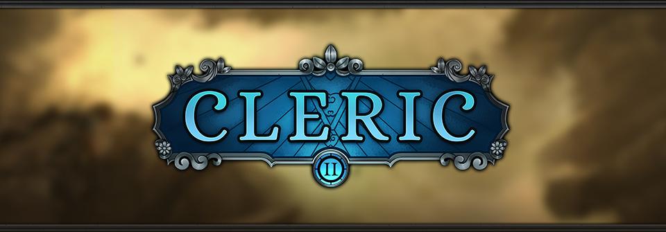 Cleric RPG GUI