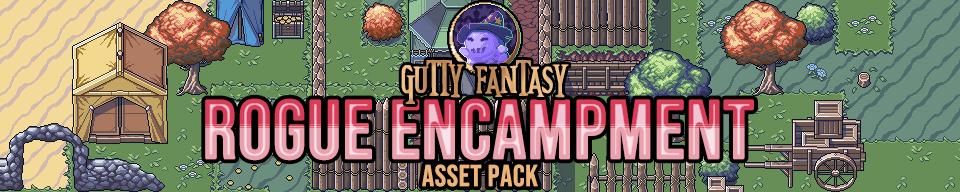 Gutty Fantasy: Rogue Encampment Game Assets