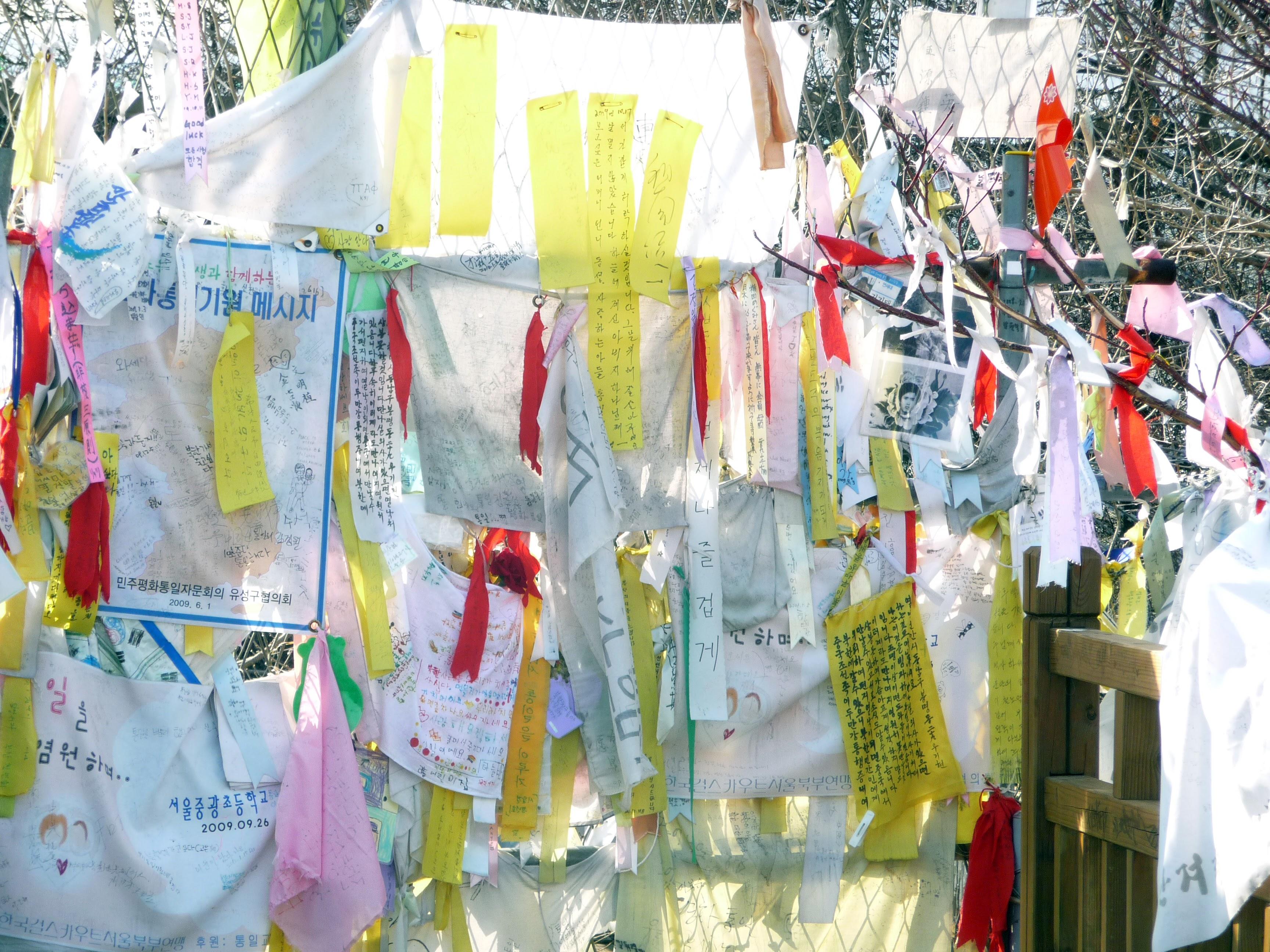 Prayers left for loved ones at Freedom Bridge