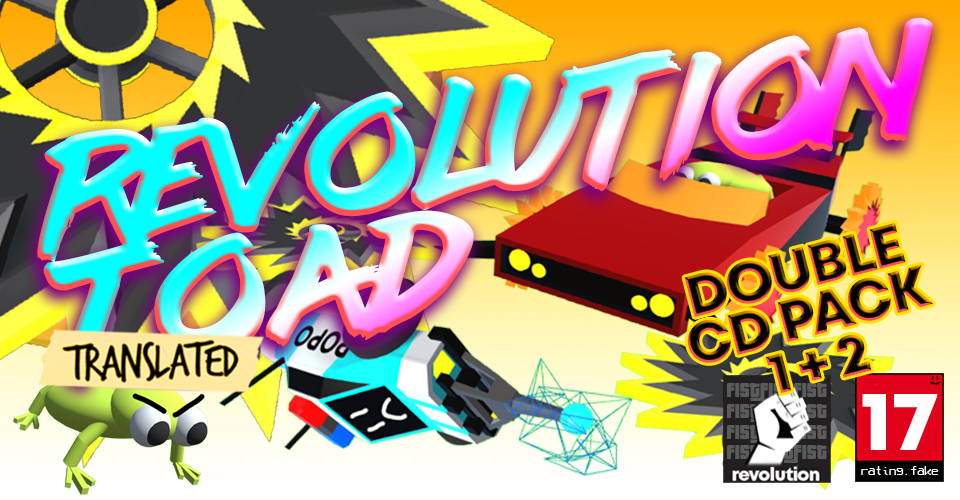 Revolution Toad: Double CD Pack