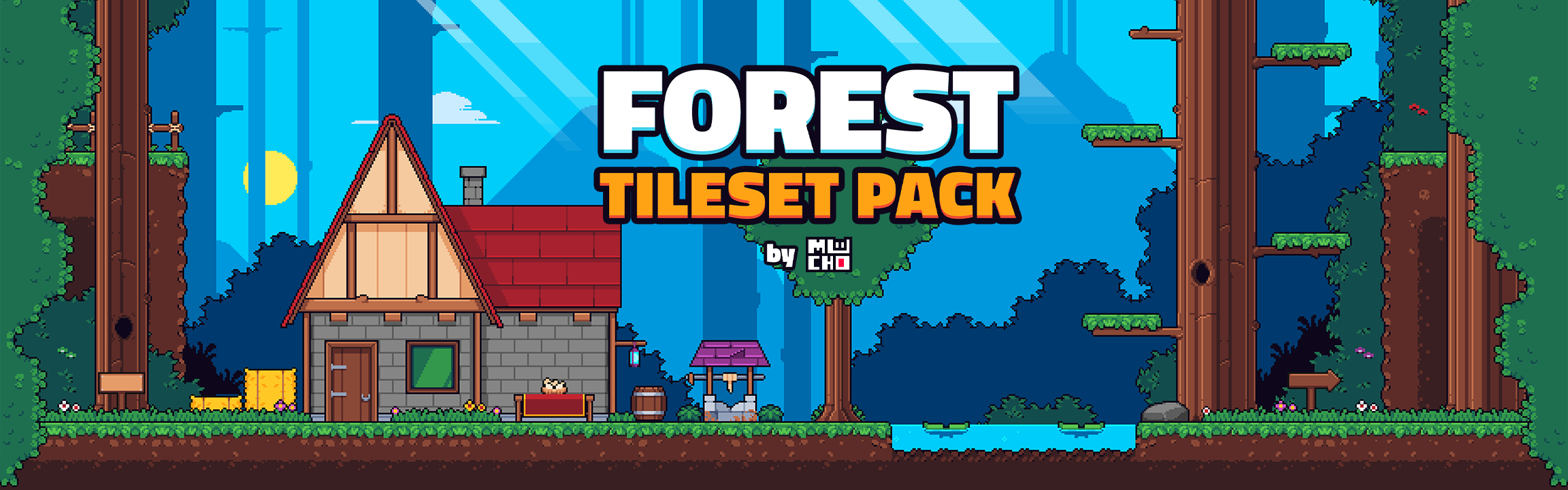 Forest Tileset Pack