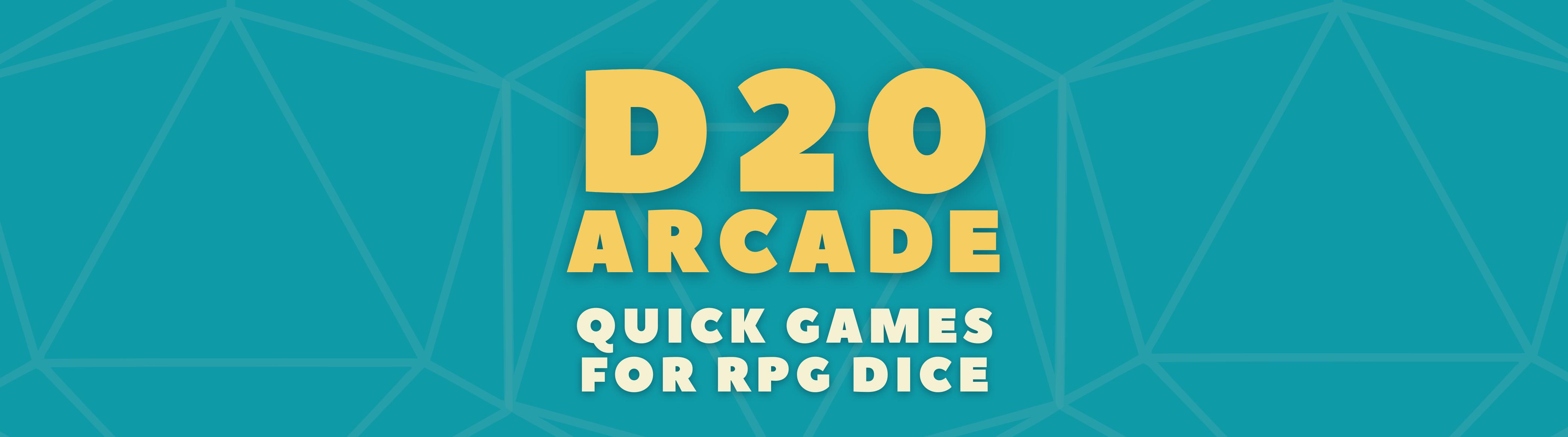 D20 Arcade - Six Games