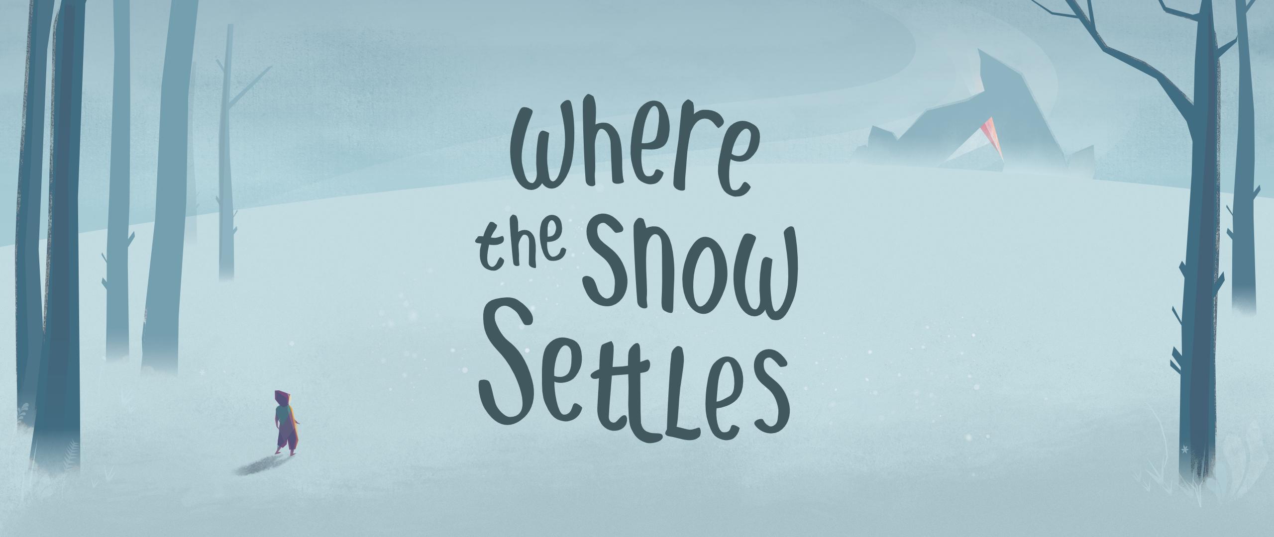 Where the Snow Settles